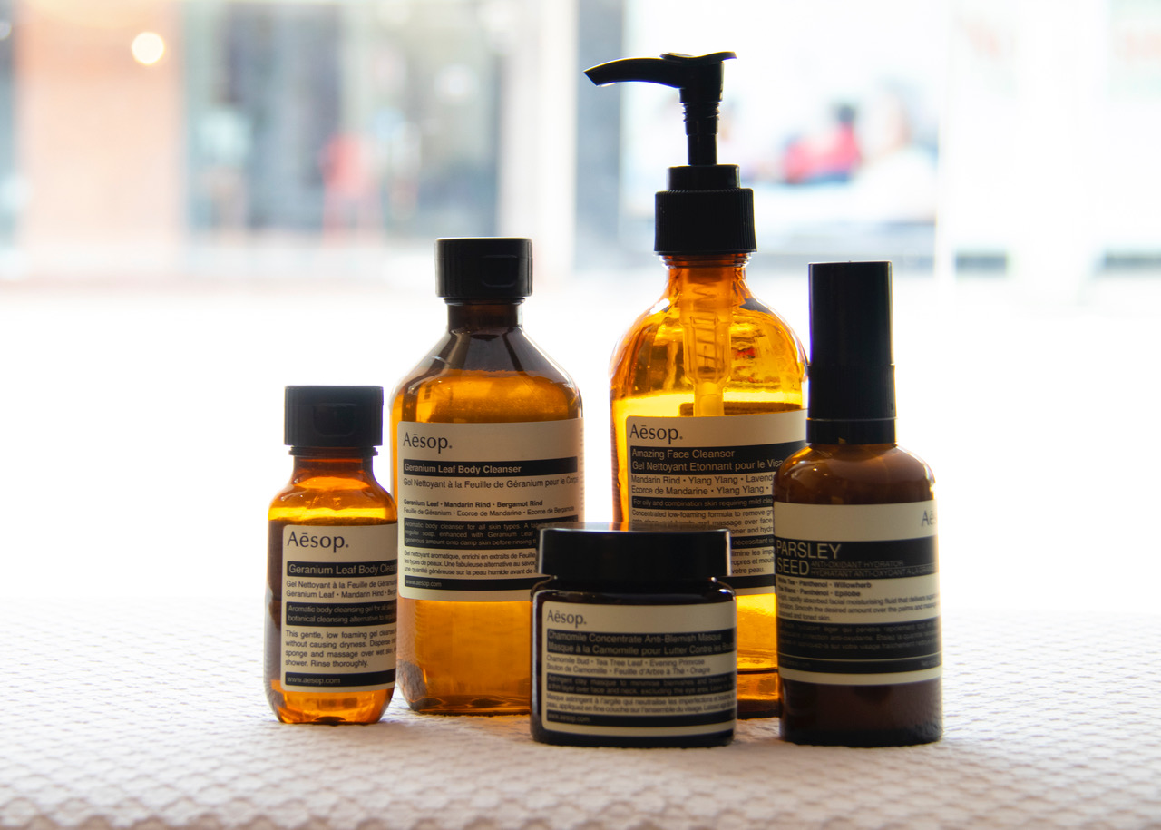 Aesop Skin Care Products